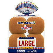 Mrs Baird's Enriched Large Buns
