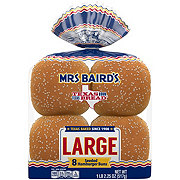 Mrs Baird's Enriched Large Buns Topped with Sesame Seeds