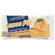 Mrs Baird's Lemon Pie