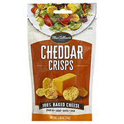 Mrs. Cubbison's 100% Cheddar Cheese Baked Cheese Crisps