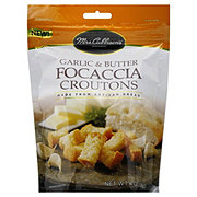Mrs. Cubbison's Garlic & Butter Focaccia Croutons