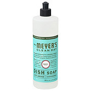 Mrs. Meyer's Clean Day Basil Scent Dish Soap