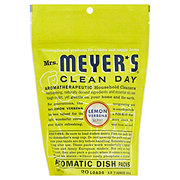 Mrs. Meyer's Clean Day Lemon Verbena Scent Automatic Dish Packs