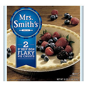 Mrs. Smith's 9 in Flaky Homestyle Deep Dish Pie Shells
