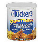 Mrs. Tucker's Shortening