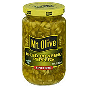 Mt. Olive Diced Jalapeno Peppers Fresh Pack