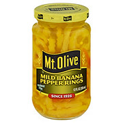 Mt. Olive Fresh Pack Mild Banana Pepper Rings