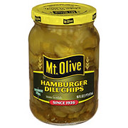 Mt. Olive Hamburger Dill Chip