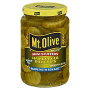 Mt. Olive Mini Stuffers Hamburger Dill Chips