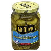 Mt. Olive No Sugar Added Bread & Butter Chips