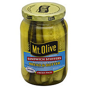 Mt. Olive No Sugar Added Sandwich Stuffers Bread & Butter Pickles