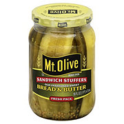 Mt. Olive Old Fashioned Sweet Bread and Butter Sandwich Stuffers