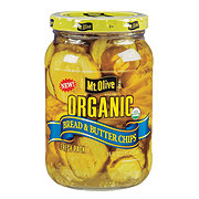 Mt. Olive Organic Bread & Butter Pickle Chips