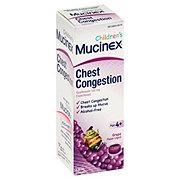 Mucinex Children's Chest Congestion Grape Flavor Liquid