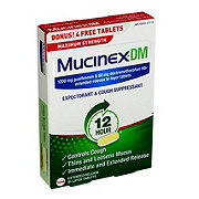 Mucinex DM Max Strength Extended Release Bi-layer Tabs