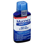 Mucinex Fast-Max Cold Flu And Sore Throat Multi-Symptom Maximum Strength