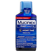 Mucinex Fast-Max Night Time Cold And Flu Maximum Strength