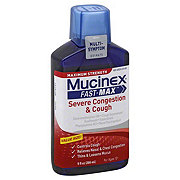 Mucinex Fast-Max Severe Congestion & Cough Multi-Symptom Maximum Strength