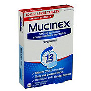 Mucinex Max Strength Extended Release Bi-layer Tablets