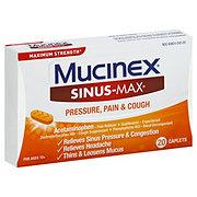 Mucinex Sinus-max Caplets Pressure Pain And Cough