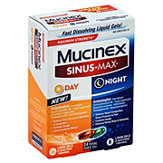 Mucinex Sinus-Max Day & Night Liquid Gels