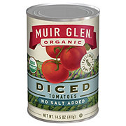 Muir Glen Organic Diced Tomatoes No Salt Added