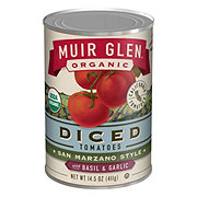 Muir Glen Organic Diced Tomatoes with Basil and Garlic