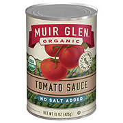 Muir Glen Organic No Salt Added Tomato Sauce