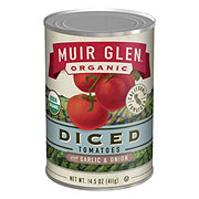 Muir Glen Organic Premium Diced Tomatoes with Garlic and Onion