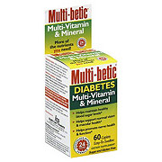 Multi-betic Diabetes Multi-Vitamin And Mineral Caplets