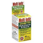 Multi-betic Diabetes Multi-Vitamin And Mineral Caplets