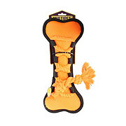 Multipet Cross-Ropes Dog Toy Orange Bone