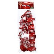 Multipet Holiday Rope Dog Toy