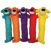 "Multipet Loofa Dog Small Toy 12"", Assorted Colors"