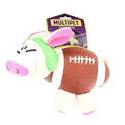 Multipet Pig-Skins Dog Toy Green Helmet