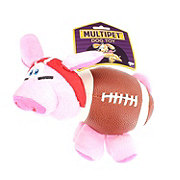 Multipet Pig-Skins Dog Toy Red Helmet