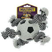 Multipet TPR Ball with Rope Soccer Ball