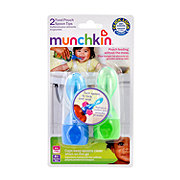 Munchkin Food Pouch Spoon Tips 4+ Months, Assorted Colors