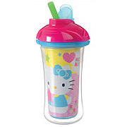 Munchkin Hello Kitty Insulated Straw Cup 9 OZ 12+ Months, Assorted Colors
