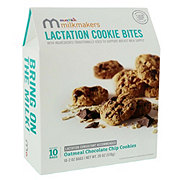 Munchkin Milkmakers Lactation Cookie Bites Oatmeal Chocolate Chip