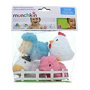 Munchkin Squirtin Barnyard Friends Bath Toys
