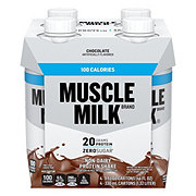 Muscle Milk 100 Calorie Protein Shakes Chocolate 4 pk
