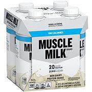 Muscle Milk 100 Calorie Protein Shakes Vanilla 4 pk