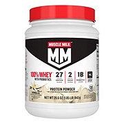 Muscle Milk 100% Whey Protein Blend With Probiotics Vanilla