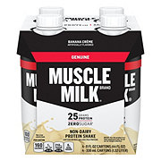 Muscle Milk Banana Creme Nutritional Shake 4 ct