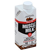 Muscle Milk Chocolate  Protein Nutrition Shake
