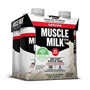 Muscle Milk Cookies 'n Crème Genuine Non-Dairy Protein Shake 4 pk