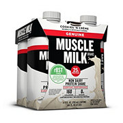 Muscle Milk Cookies 'n Creme Nutritional Shake 4 ct