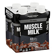 Muscle Milk Pro Series 32 Mega Protein Shake, Knockout Chocolate