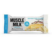 Muscle Milk Protein Bar Birthday Cake